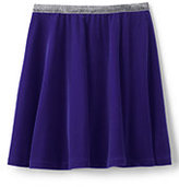 Classic Girls Plus Velveteen Skirt-Rich Red