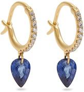 RAPHAELE CANOT Set Free diamond, sapphire & yellow-gold earrings