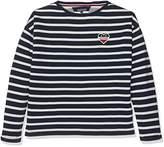 Tommy Hilfiger Baby Girls' Ame Stripe BN Hwk L/S Sweatshirt