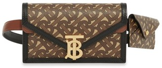 Burberry E-Canvas Envelope Tb Monogram Belt Bag