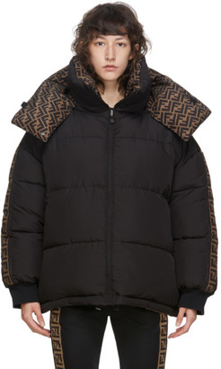 Fendi Reversible Black Down Forever Puffer Jacket