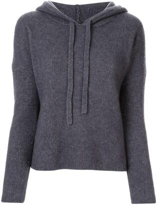 James Perse Regular-Fit Knitted Hoodie