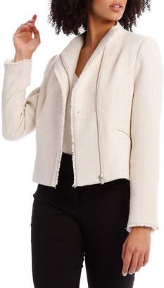 Basque Tweed Moto Jacket