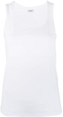 Liu Jo Round-Neck Sleeveless T-Shirt