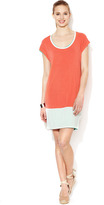 Loomstate Madeira Reversible Jersey Color Block Dress
