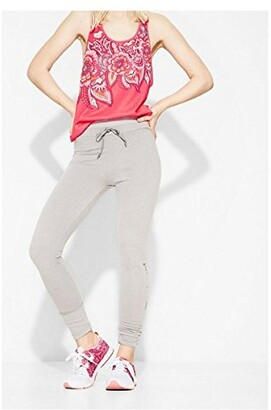 Desigual Women's Womens' Sport Cotton Essential Leggings Black
