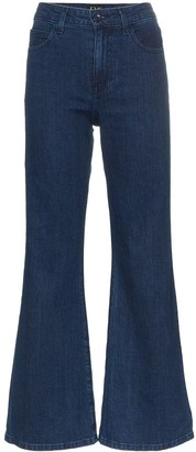 Eve Denim Jacqueline flared denim jeans
