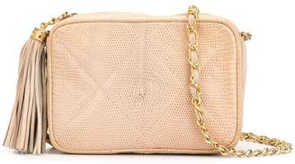 Chanel Pre-Owned diamond quilted tassel shoulder bag
