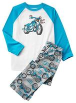Gymboree Moto Pajama Set