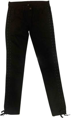 Sandro Black Denim - Jeans Jeans for Women