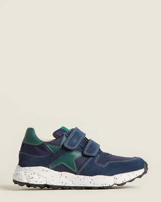 Naturino Toddler/Kids Boys) Dark Blue Nylon Low-Top Sneakers