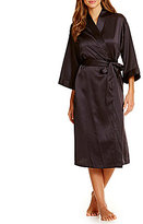 Cabernet Satin Robe