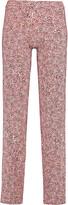 Cosabella Leopard-print stretch-jersey pajama pants