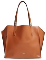 Lodis 'Blair Collection - Anita' Leather Tote - Brown