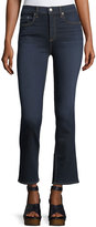 Rag & Bone Hana High-Rise Cropped Boot-Cut Denim Jeans