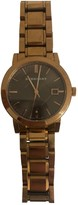 Burberry Other Gold plated Watches
