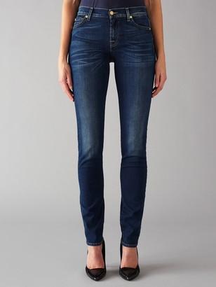 7 For All Mankind Roxanne Mid Rise B(air) Slim Jeans, Duchess