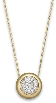Bloomingdale's Diamond Pave Pendant Necklace in 14K Yellow Gold, .25 ct. t.w. - 100% Exclusive