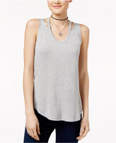 Ultra Flirt Juniors' Cutout Tank Top