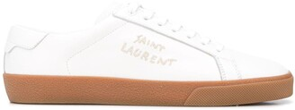 Saint Laurent Court Classis SL/06 embroidered sneakers