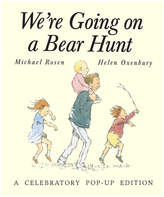 Simon & Schuster We're Going On A Bear Hunt: A Celebratory Pop-Up Edition By Michael Rosen And Helen Oxenbury