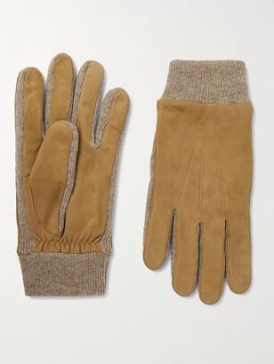 Hestra Geoffrey Suede Gloves - Men - Brown