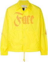 Facetasm logo print shirt jacket
