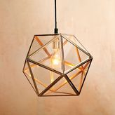 Faceted Glass Pendant Lamp