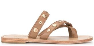 Senso Fallow studded sandals