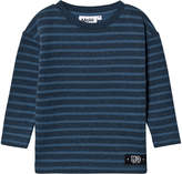 Molo Stellar Blue Stripe Mac Sweatshirt