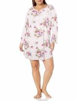 Karen Neuburger Womens 3//4 Sleeve Nightgown Pajama Sleepshirt Pj