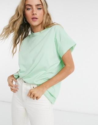 ASOS DESIGN oversized sleeveless t-shirt in apple