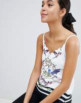 Ted Baker Brica Scalloped Cami in High Grove