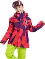 Vector Windproof Waterproof Warm Snowboard Hooded Coat Children Ski Jacket S