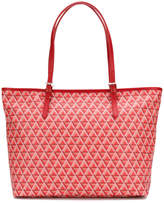 Lancaster patterned shopping tote