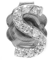 KC Designs Rose Gold Diamond S Single Stud Earring