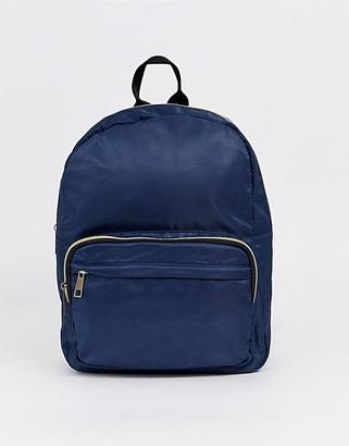 Yoki Fashion zip pocket backpack