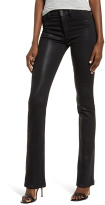 Hudson Jeans Barbara High Waist Bootcut Coated Jeans