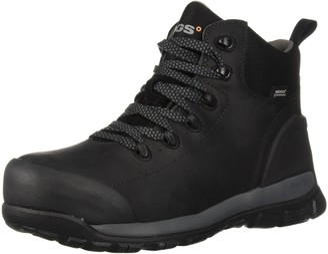 Bogs Men's Foundation Leather Mid Composite Toe Waterproof Industrial Work Boot