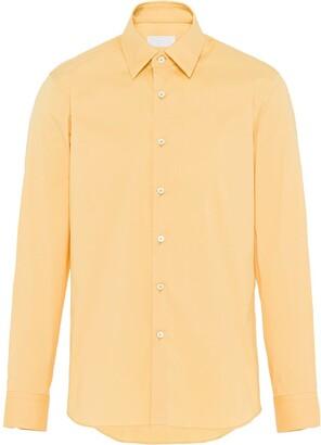 Prada Long-Sleeve Buttoned Shirt