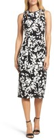 Maggy London Women's Print Sheath Dress
