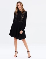 Sass Rossella Lace Insert Dress