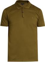 Lanvin Short-sleeved piqué polo shirt