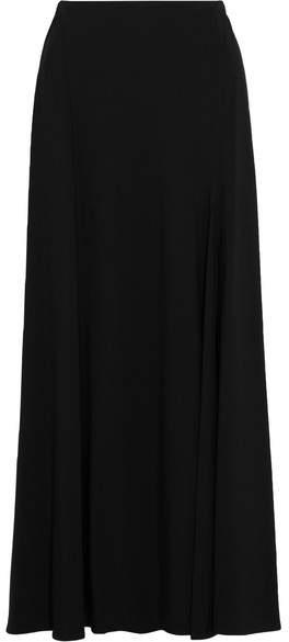 DKNY Crepe Maxi Skirt - Black
