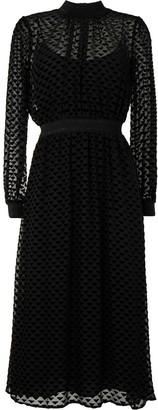 Tory Burch Triangle Pattern Midi Dress