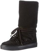 Fornarina Women's ANDROMEDA Long Boots Black Size: 5.5-6