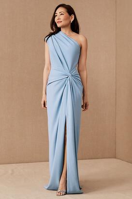 Tadashi Shoji Quinn Dress By in Blue Size S