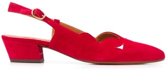 Chie Mihara Rune pointed toe slingback pumps