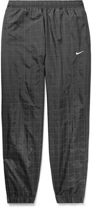 Nike Flash Reflective Checked Shell Track Pants
