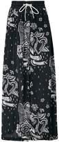 Diesel printed maxi skirt